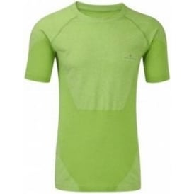 Ronhill Advance Cool Knit Short Sleeve Tee Gecko Mens