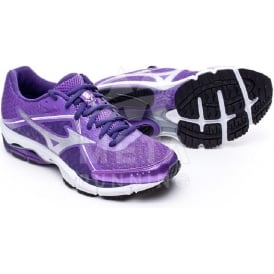 Mizuno Wave Ultima 6 Womens Road Running Shoes Lavender/Silver/Mulberry