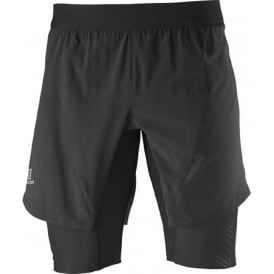 Salomon Endurance Twinskin Short Black Mens