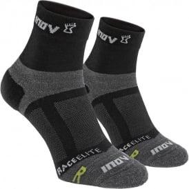 Inov8 Race Elite Sock Mid Black Twin Pack