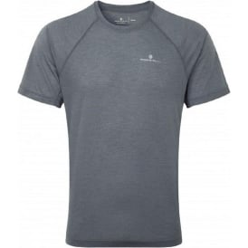 Ronhill Advance Motion Short Sleeve Tee Grey Mens