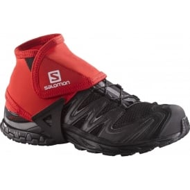 Salomon Trail Gaiters Low SS16 Bright Red