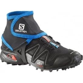 Salomon Trail Gaiters Low Black/Union Blue