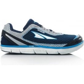 Altra Instinct 3.5 Blue/Silver Mens Zero Drop Road Running Shoe