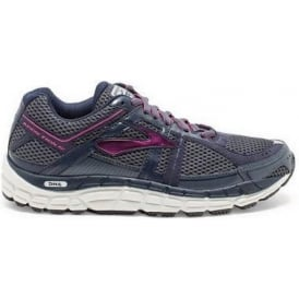 Brooks Addiction 12 Grey D WIDTH - WIDE Womens