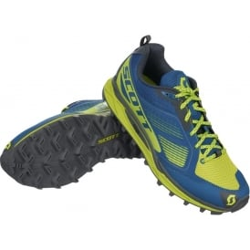 Scott Kinabalu Supertrac Mens Off-Road Running Shoes Blue/Yellow