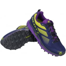Scott Kinabalu Supertrac Womens Off-Road Running Shoes Purple/Green
