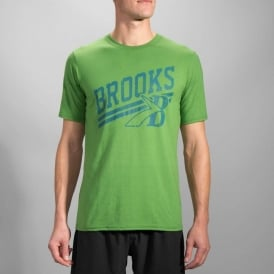 Brooks Heritage T-Shirt Forest Mens