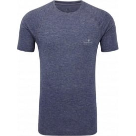 Ronhill Advance Cool Knit Short Sleeve Tee Midnight Blue Mens