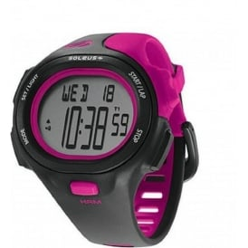 Soleus PR HRM Black/Pink