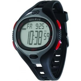 Soleus Dash Large Black/Red
