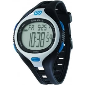 Soleus Dash Large Black/White/Blue