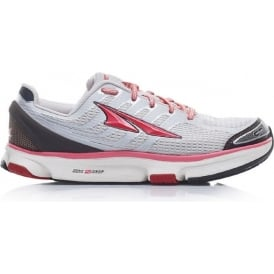 Altra Provision 2.5 Silver/Red Womens Zero Drop Road Running Shoe