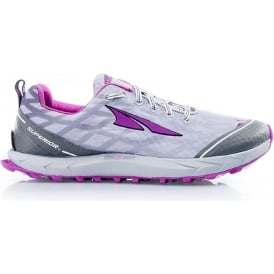 Altra Superior 2.0 Womens Trail Running Shoes Silver/Purple