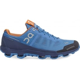 ON Cloudventure Mens Trail Running Shoes Blue