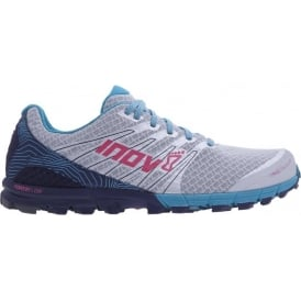 Inov8 TrailTalon 250 Womens STANDARD FIT Trail Running Shoes Silver/Navy/Teal