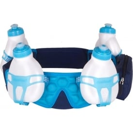 Fuelbelt Helium 4-Bottle Custom Fit Belt Blue