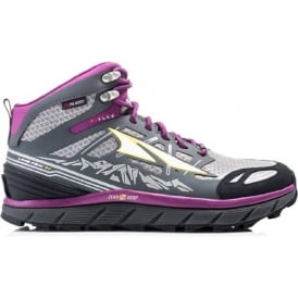 Altra Lone Peak 3.0 Neoshell Womens Trail Running Boots Mid Grey/Purple