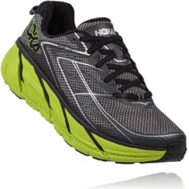 Hoka Clifton 3 Blue Graphite Grey/Brite Green Mens