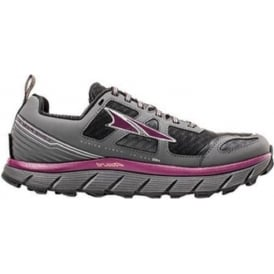 Altra Lone Peak 3.0 Womens Trail Running Shoes Black/Purple