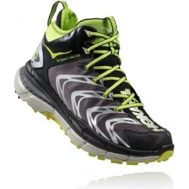 Hoka Tor Speed 2 Mid WP Black/Dark Shadow/Bright Green Mens