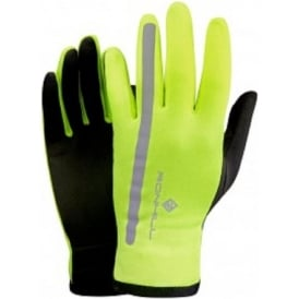Ronhill Radiance Glove Fluo Yellow/Reflect
