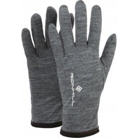Ronhill Merino 200 Glove Grey Marl/Black