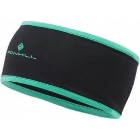 Ronhill Thermal 200 Headband Black/Peppermint