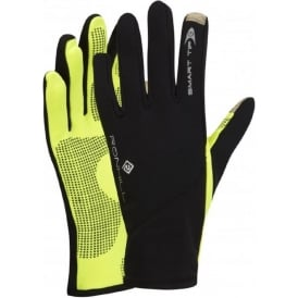 Ronhill Sirocco Glove Black/Fluo Yellow