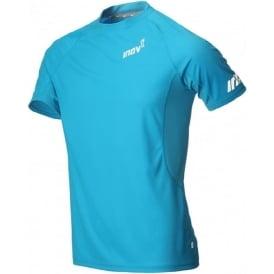 Inov8 AT/C Base Short Sleeve Tee Blue Mens