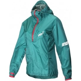 Inov8 AT/C Stormshell Half Zip Womens Running Jacket Teal/Pink