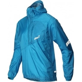 Inov8 AT/C Stormshell Half Zip Blue Mens