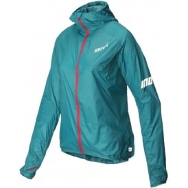Inov8 AT/C Windshell Full Zip Teal/Pink Womens
