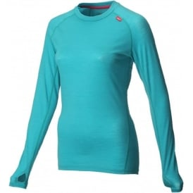 Inov8 AT/C Merino Long Sleeve Teal/Pink Womens