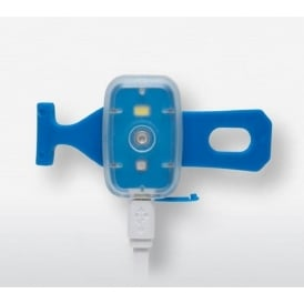 Silverpoint Rechargeable Clip Light Blue