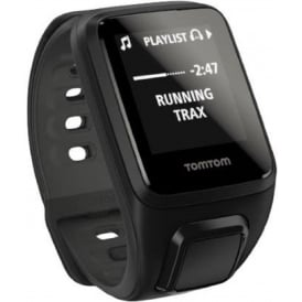 TomTom Runner 2 Cardio+Music Black Large