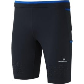 Ronhill Men's Infinity Cargo Stretch Short Black/Cobalt Blue