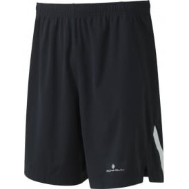 "Ronhill Men's Infinity Wind-Block 7"" Short All Black"