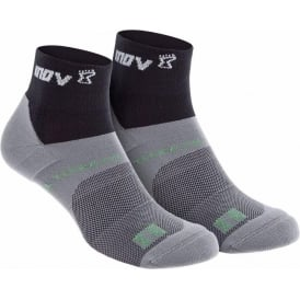 Inov8 All Terrain Sock Mid Twin Pack Black