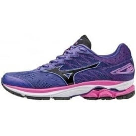 Mizuno Wave Rider 20 Road Running Shoes Purple Womens