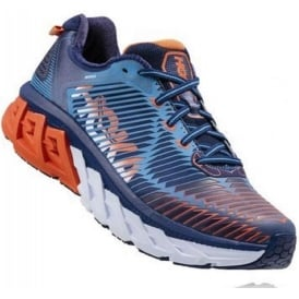 Hoka Arahi Road Running Shoes Blue Mens