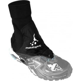 Raidlight Trail Running Gaiters Black