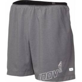 "Inov8 AT/C 5"" Trail Short Dark Grey Mens"