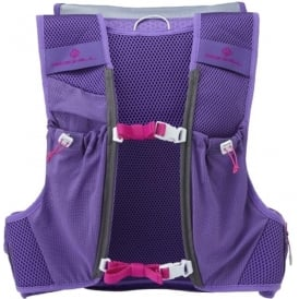 Ronhill Commuter Xero 10L + 5L Running Vest/Bag Purple Thistle