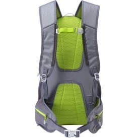 Ronhill Commuter 15L Pack Running Bag Grey Granite & Lime Green