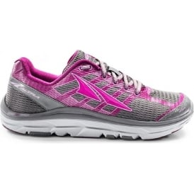 Altra Provision 3.0 Grey/Purple Zero Drop Womens Road Running Shoes