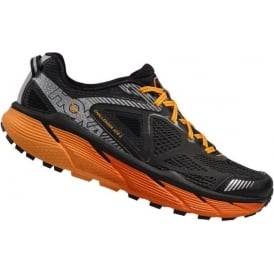 Hoka Challenger ATR 3 Black/Red Orange Mens
