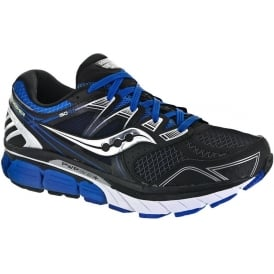 Saucony Redeemer ISO Road Running Shoes Black/Blue Mens