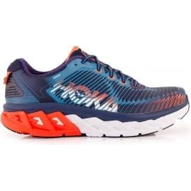 Hoka Arahi Road Running Shoes Blue Mens