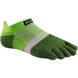 Injinji Socks Run Lightweight No Show Running Sock Chive